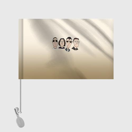 Флаг для автомобиля Arctic Monkeys 1 Фото 01