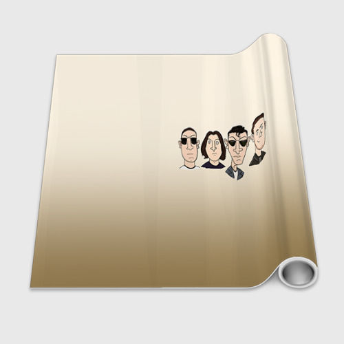 Бумага для упаковки 3D Arctic Monkeys 1 Фото 01