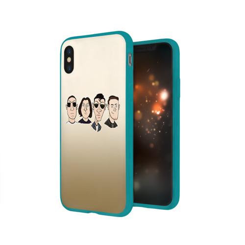 Чехол для Apple iPhone X силиконовый глянцевый Arctic Monkeys 1 Фото 01
