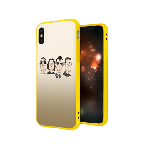 Чехол для Apple iPhone X силиконовый матовый Arctic Monkeys 1 Фото 01