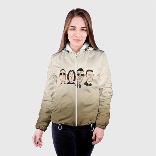 Женская куртка 3D Arctic Monkeys 1 Фото 01