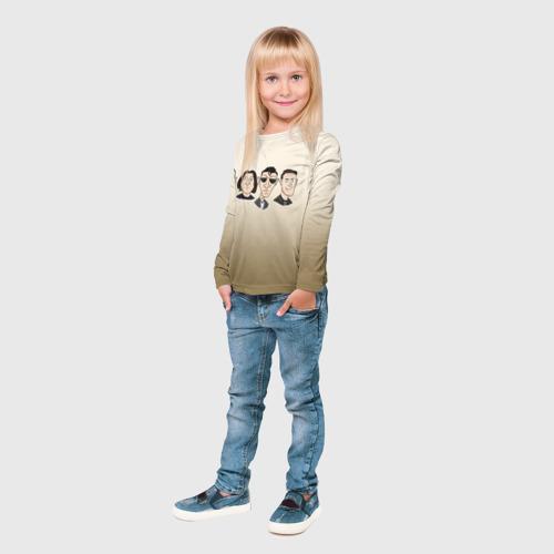 Детский лонгслив 3D Arctic Monkeys 1 Фото 01
