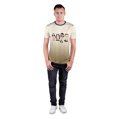 Мужская футболка 3D спортивная Arctic Monkeys 1 Фото 01
