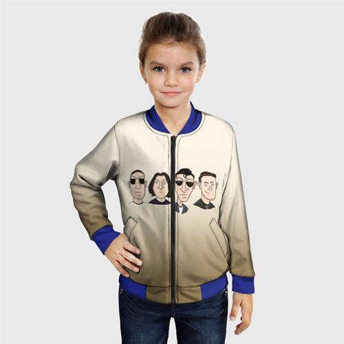 Детский бомбер 3D Arctic Monkeys 1 Фото 01