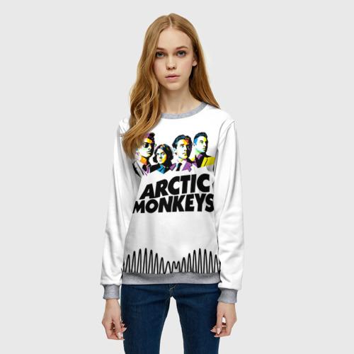 Женский свитшот 3D Arctic Monkeys 2 Фото 01