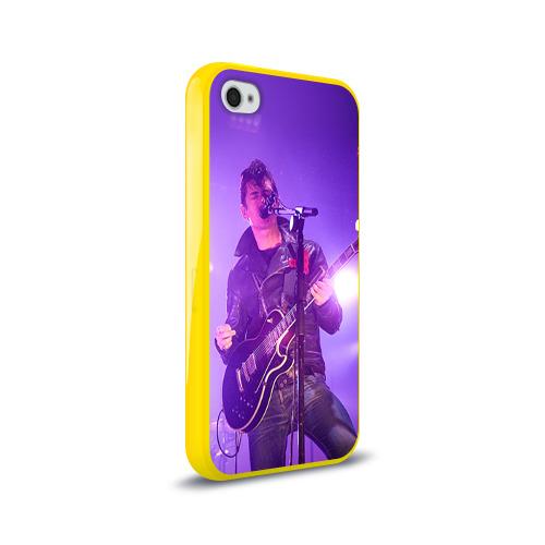 Чехол для Apple iPhone 4/4S силиконовый глянцевый Arctic Monkeys 3 Фото 01