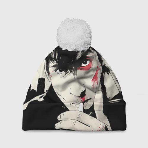 Шапка 3D c помпоном  Фото 01, Arctic Monkeys 4
