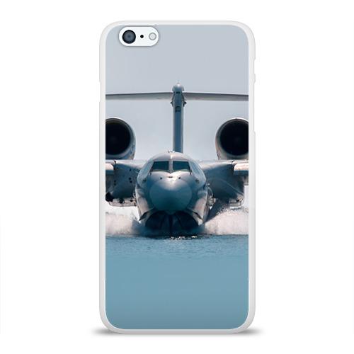 Чехол для Apple iPhone 6Plus/6SPlus силиконовый глянцевый  Фото 01, Самолет Мчс 2