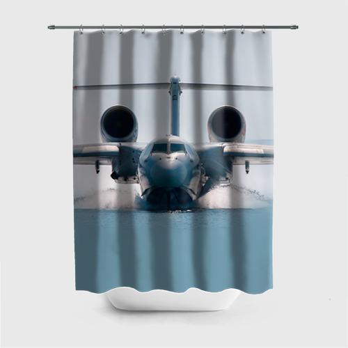 Штора для ванной Самолет Мчс 2 от Всемайки