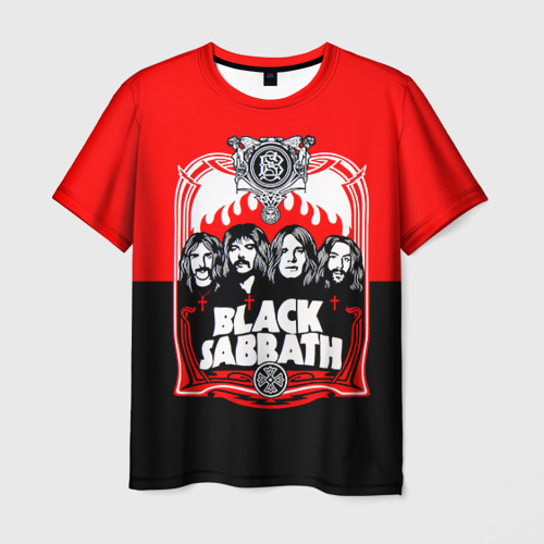 Мужская футболка 3D  Фото 03, Black Sabbath группа