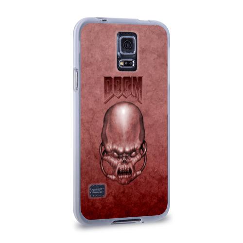Чехол для Samsung Galaxy S5 силиконовый  Фото 02, Демон (Doom classic)
