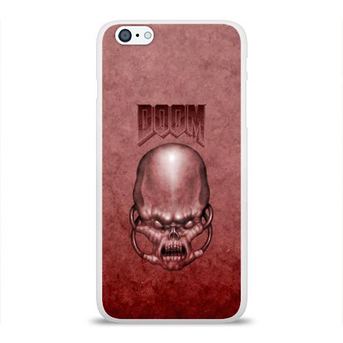 Чехол для Apple iPhone 6Plus/6SPlus силиконовый глянцевый  Фото 01, Демон (Doom classic)