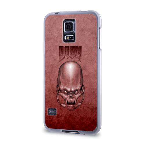 Чехол для Samsung Galaxy S5 силиконовый  Фото 03, Демон (Doom classic)