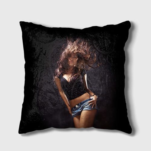 Подушка 3D Страстная девушка от Всемайки