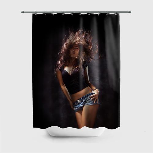 Штора для ванной Страстная девушка от Всемайки