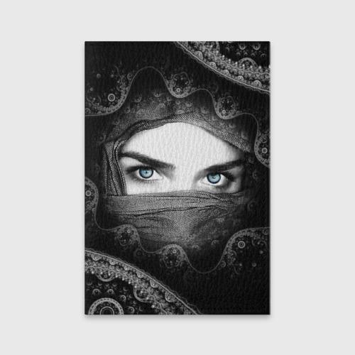 Обложка для паспорта матовая кожа  Фото 01, Восточная девушка