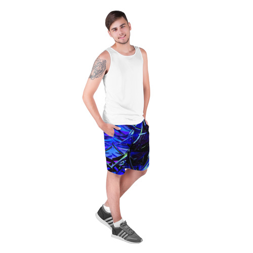 Мужские шорты 3D Острые шипы Фото 01