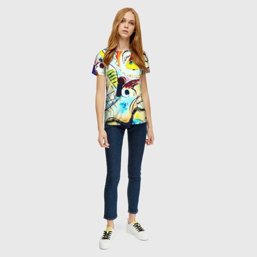 Женская футболка 3D Ample Фото 01