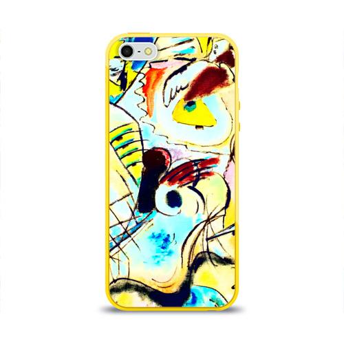 Чехол для Apple iPhone 5/5S силиконовый глянцевый Ample Фото 01