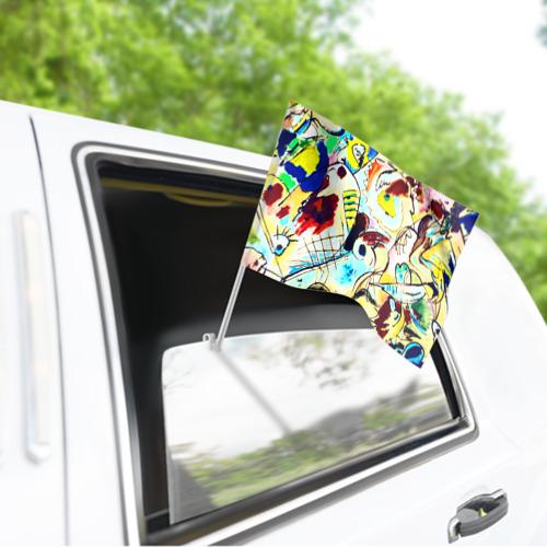 Флаг для автомобиля Ample Фото 01