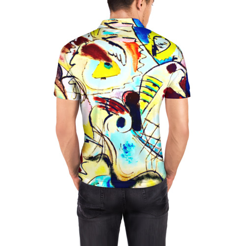 Мужская рубашка поло 3D Ample Фото 01