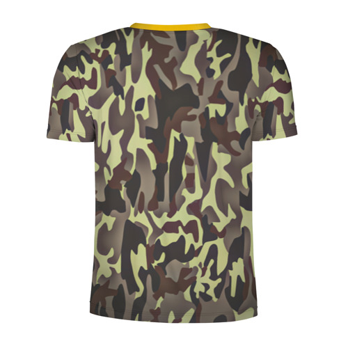 Мужская футболка 3D спортивная  Фото 02, Камуфляжная форма