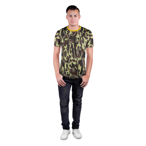 Мужская футболка 3D спортивная  Фото 04, Камуфляжная форма