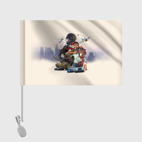 Флаг для автомобиля  Фото 02, GTA 5