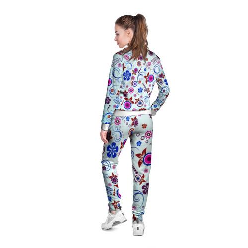 Женская олимпийка 3D  Фото 04, Весенние узоры