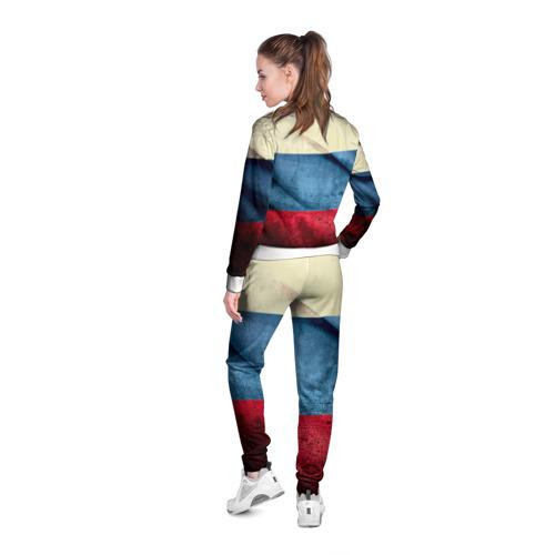 Женская олимпийка 3D  Фото 04, Триколор