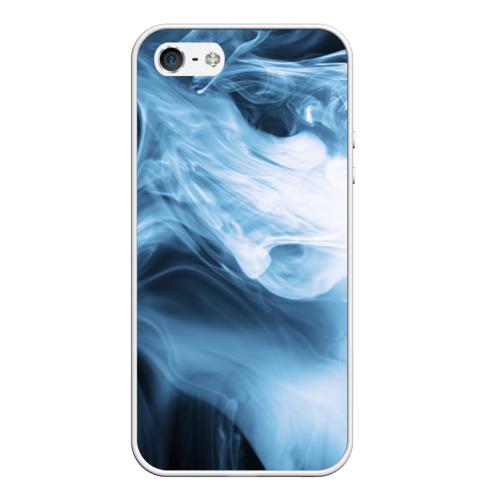 Чехол силиконовый для Телефон Apple iPhone 5/5S Smoke от Всемайки