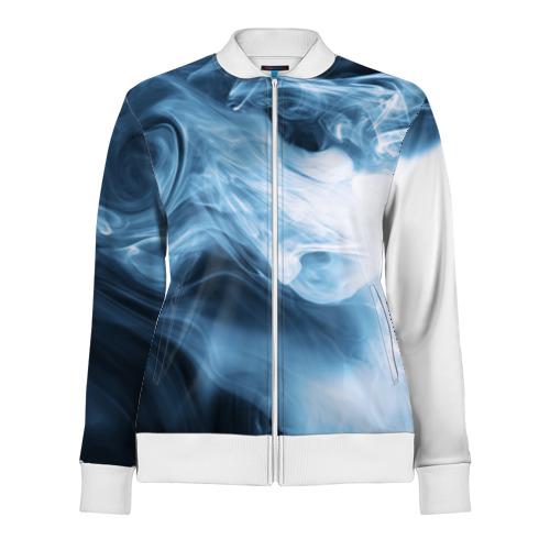 Женская олимпийка 3D Smoke