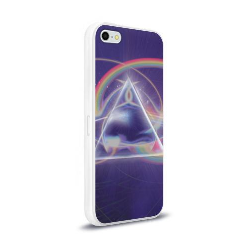 Чехол для Apple iPhone 5/5S силиконовый глянцевый  Фото 02, Pink Floyd