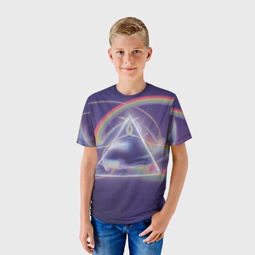Детская футболка 3D  Фото 01, Pink Floyd