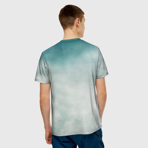 Мужская футболка 3D Кит Фото 01