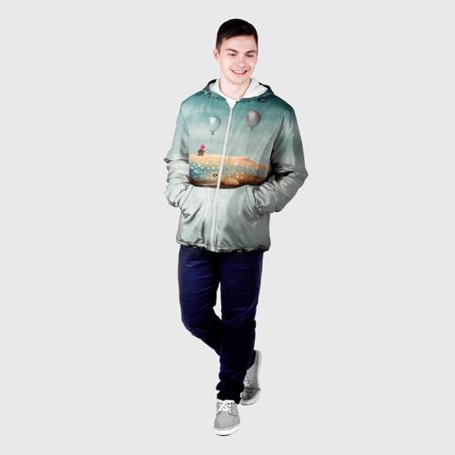 Мужская куртка 3D  Фото 03, Кит