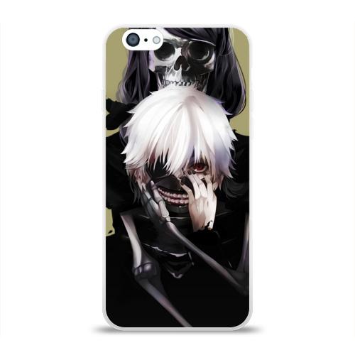 Чехол для Apple iPhone 6 силиконовый глянцевый Tokyo Ghoul