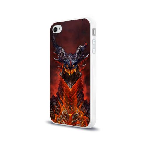 Чехол для Apple iPhone 4/4S силиконовый глянцевый Dragon Фото 01