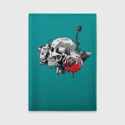 Череп с розами
