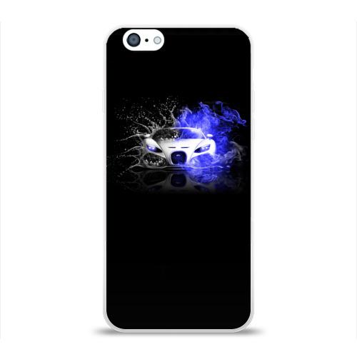 Чехол для Apple iPhone 6 силиконовый глянцевый  Фото 01, Bugatti (Бугатти)
