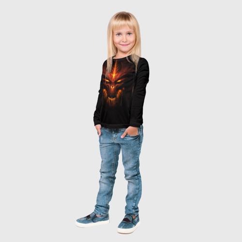 Детский лонгслив 3D  Фото 04, Diablo