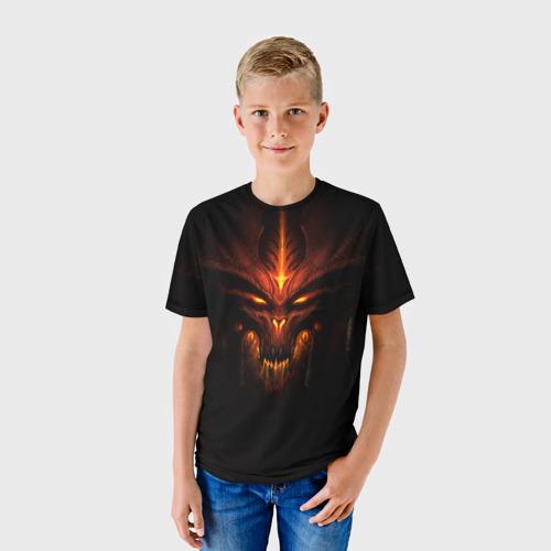 Детская футболка 3D  Фото 01, Diablo