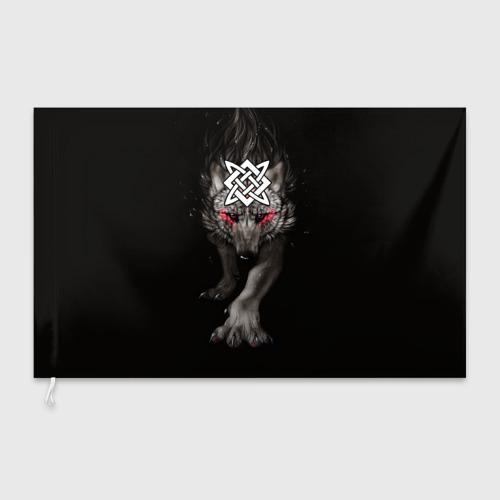 Флаг 3D Знак Сварога Фото 01
