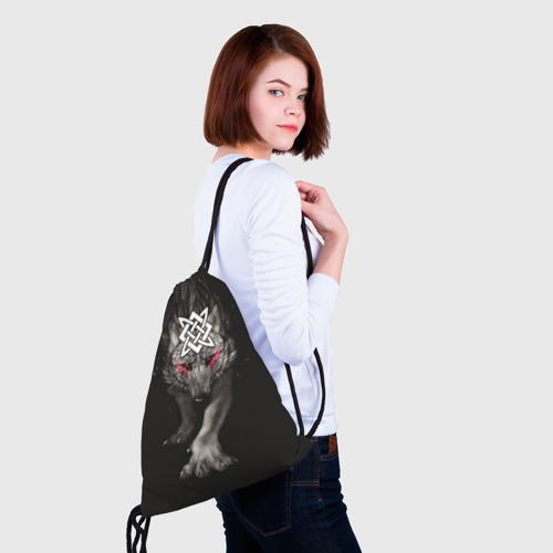 Рюкзак-мешок 3D  Фото 02, Знак Сварога