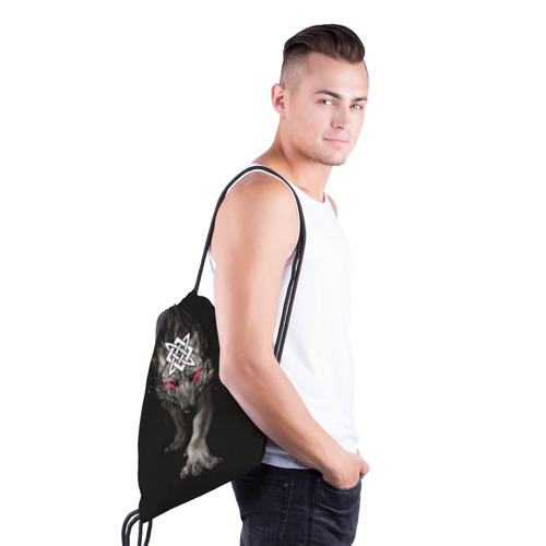 Рюкзак-мешок 3D  Фото 03, Знак Сварога