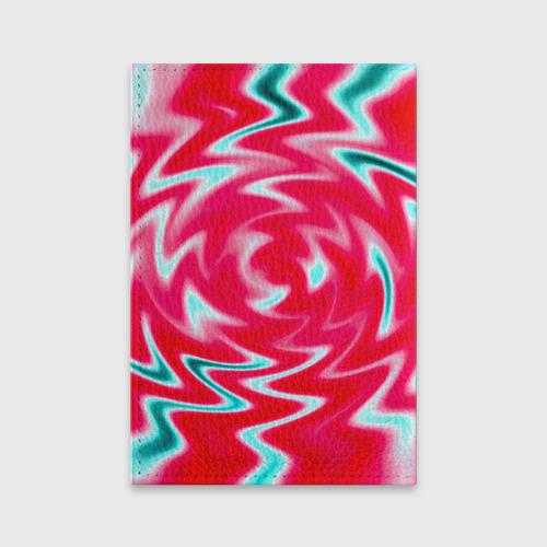 Обложка для паспорта матовая кожа  Фото 02, Разводы красок