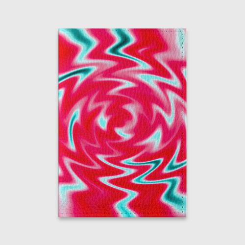 Обложка для паспорта матовая кожа  Фото 01, Разводы красок