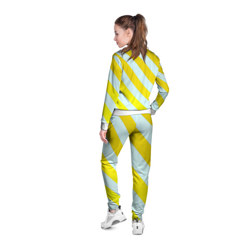 Женская олимпийка 3D  Фото 04, Yellow