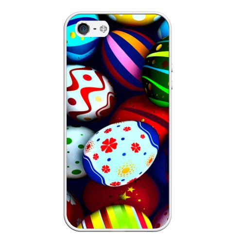 Чехол силиконовый для Телефон Apple iPhone 5/5S Пасха