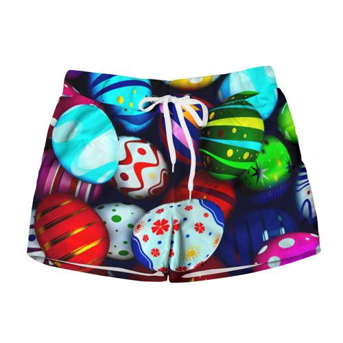 Женские шорты 3D Пасха